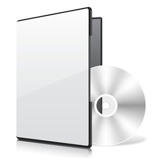 Printable blank CD and cover
