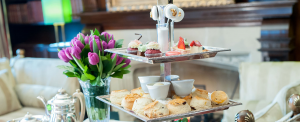 milestone afternoon tea