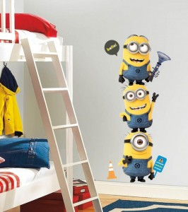 Despicable-Me-2-Minions-wallpaper-and-wall-sticker-on-kids-bedroom-750x847