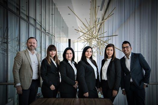 Corporate printing team
